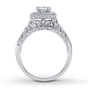 1ct TW Engagement Ring w/ FREE Wedding Band